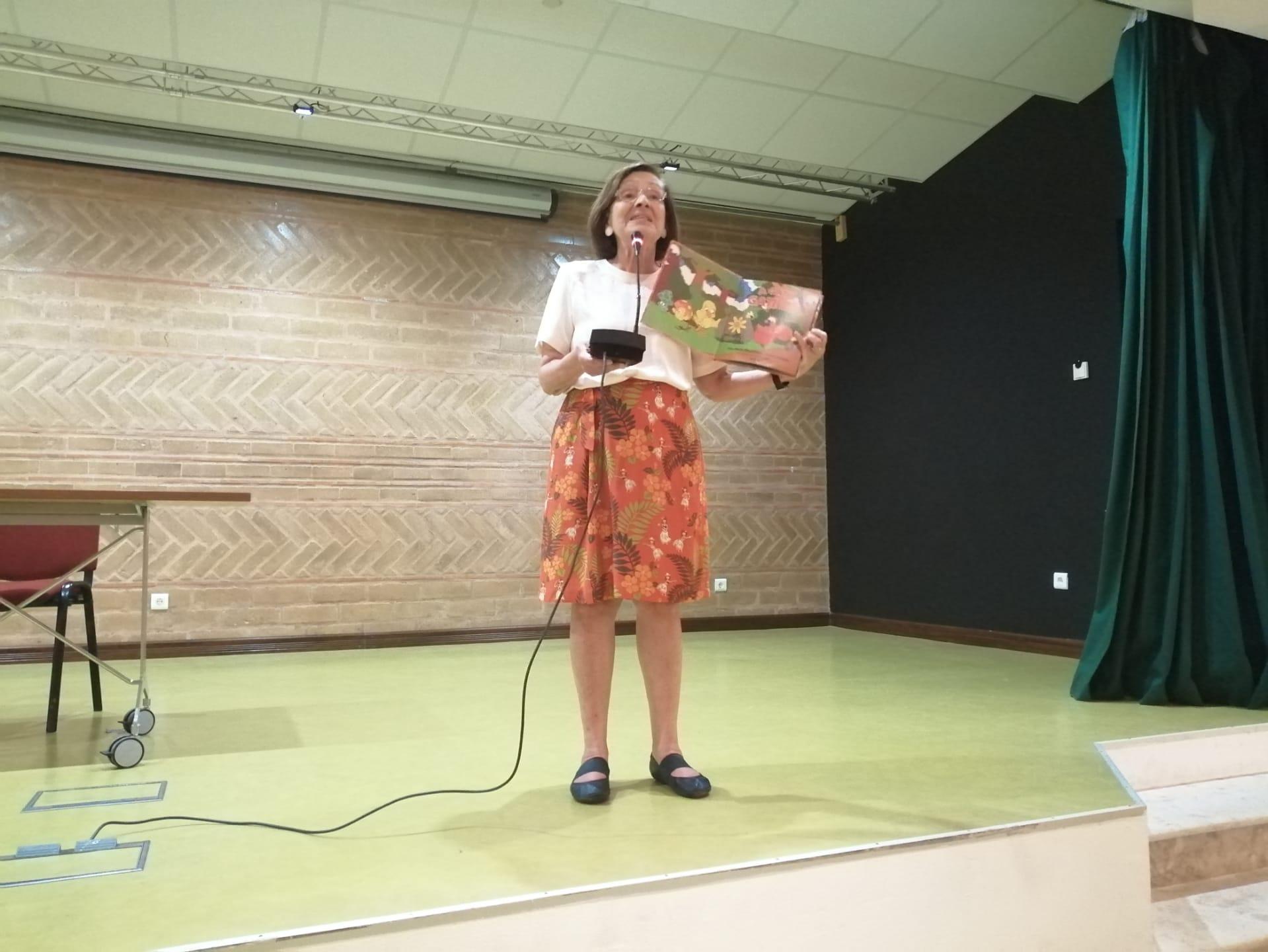 Visita da Escritora – Ana Maria Magalhães