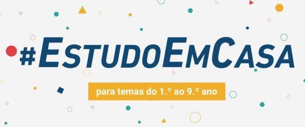 """#EstudoEmCasa 2020/2021 -""""O teu companheiro de escola"""""""